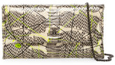 Vivienne Westwood Pollock Leather Envelope Clutch