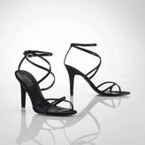 Amina Satin-Crystal Sandal
