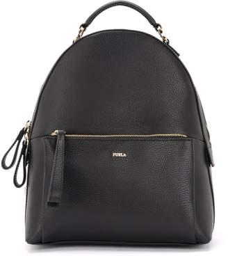 Furla Noa Backpack Made Of Black Leather