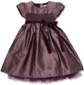 Marie Chantal Taffetta Smock Dress
