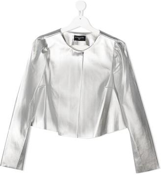 MonnaLisa TEEN metallized jacket