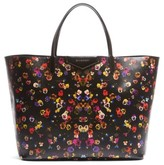 Givenchy Antigona - Night Pansy Saffiano Leather Shopper - None