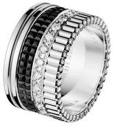Boucheron Large Quatre Black Edition Diamond Band, Size 6.25