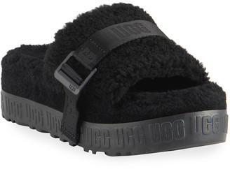 UGG Fluffita Flatform Sheepskin Slippers