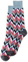 Jared Lang Arrow Blocks Socks