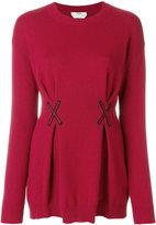 Fendi cashmere embroidered top