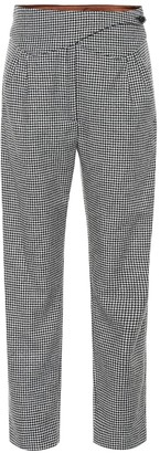 BLAZÉ MILANO Kismet Basque wool-blend pants