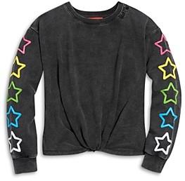 Butter Shoes Girls' Twist Front Sweatshirt - Big Kid