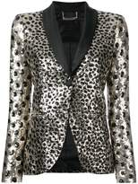 Philipp Plein leopard print jacket