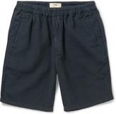 Folk - Linen And Cotton-blend Shorts