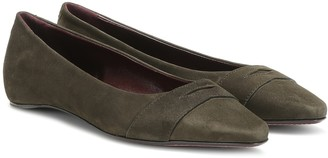 Bougeotte Suede ballet flats