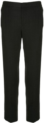 Solid Homme Cropped Tailored Trousers