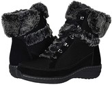 Aetrex Fiona (Black) Women's Lace-up Boots