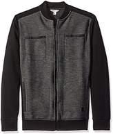Calvin Klein Jeans Men's Full Zip Moto Sweater