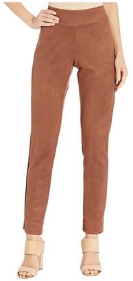 Krazy Larry Ultra Suede Pants (Camel) Women's Casual Pants