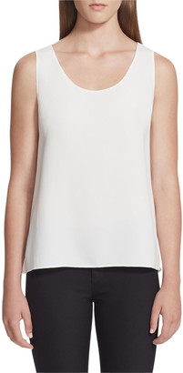 Lafayette 148 New York Finnley Scoop Neck Tank