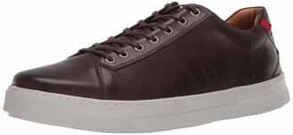 Marc Joseph New York Men's Leather Luxury Laceup Lightweight Technology Sneaker