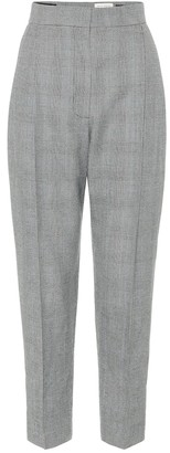 Alexander McQueen High-rise tapered wool pants