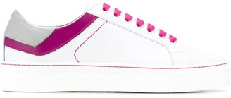Etro Contrast Lace Low-Top Sneakers