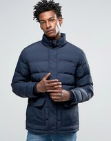 Timberland Down Quilted Mountain Jacket In Navy