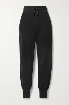 Nike Cotton-blend Jersey Track Pants - Black