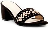 Catherine Malandrino Pelly Studded Slide Sandal
