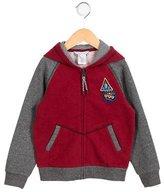 Little Marc Jacobs Boys' Zip Front Hooded Sweatshirt