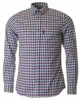 Aquascutum Emsworth Long Sleeved Checked Shirt