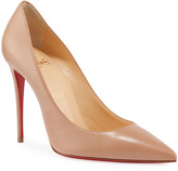 Christian Louboutin Kate 100mm Napa Red Sole Pumps