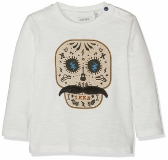 IKKS Junior Baby Boys' Tee Shirt Tete De Mort Moustache T