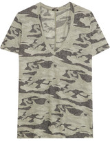 Monrow Printed Jersey T-Shirt