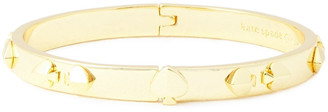 Kate Spade Heritage Spade Gold-tone Bangle
