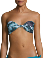 Mikoh Women's Carmel Knot Detailed Bandeau Bikini Top