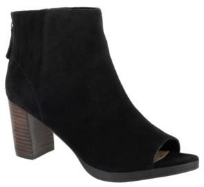 Bella Vita Lex Open Toe Booties Women's Shoes