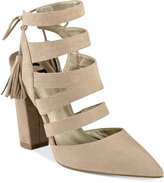 G by Guess Galway Open-Back Block-Heel Sandals