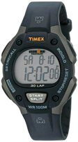 Timex Men's T5E9019J Ironman Traditional 30-Lap Gray/Black Resin Strap Watch