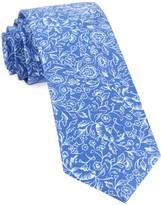 The Tie Bar Royal Blue Bracken Blossom Tie