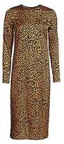 Andamane Women's Beulah Leopard-Print Midi Dress