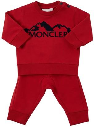 Moncler Cotton Sweatshirt & Sweat Pants