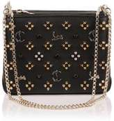 Christian Louboutin Triloubi small black logo studded bag