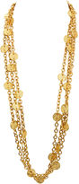 One Kings Lane Vintage Chanel Gold Coin Necklace, 1993