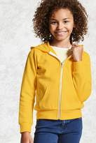 Forever 21 Girls Zip-Up Hoodie (Kids)