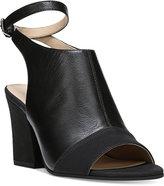 Franco Sarto Franchesca Slingback Peep-Toe Sandals