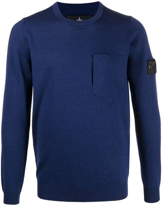 Stone Island Shadow Project Patch-Pocket Sweater