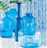 Blue Glass Bottles & Jars