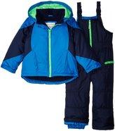 Carter's Heavyweight Color Block Snowsuit (Toddler) - Blue - 2T