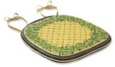 Williams-Sonoma Williams Sonoma Provence Quilted Chair Pads, Set of 4, Yellow