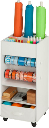 Honey-Can-Do Storage Cart With Fabric Drawer