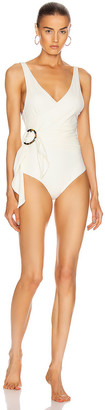 PALM Isola Bodysuit in Ivory | FWRD