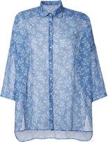Massimo Alba floral print shirt - women - Silk/Cotton - S